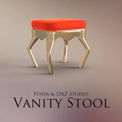 Vanity Stool by adamthwaites
