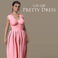 G3F G8F Pretty Dress