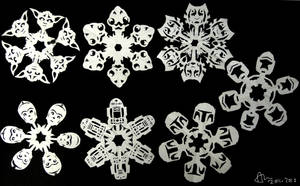 These Aren't The Snowflakes You're Looking For by aniapaluch