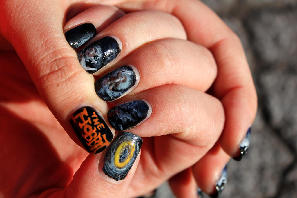 The hobbit nail art riddles in the dark by aniapaluch on deviantart the hobbit nail art riddles in the dark by aniapaluch prinsesfo Images