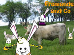 Fressande and Cow by Koboye