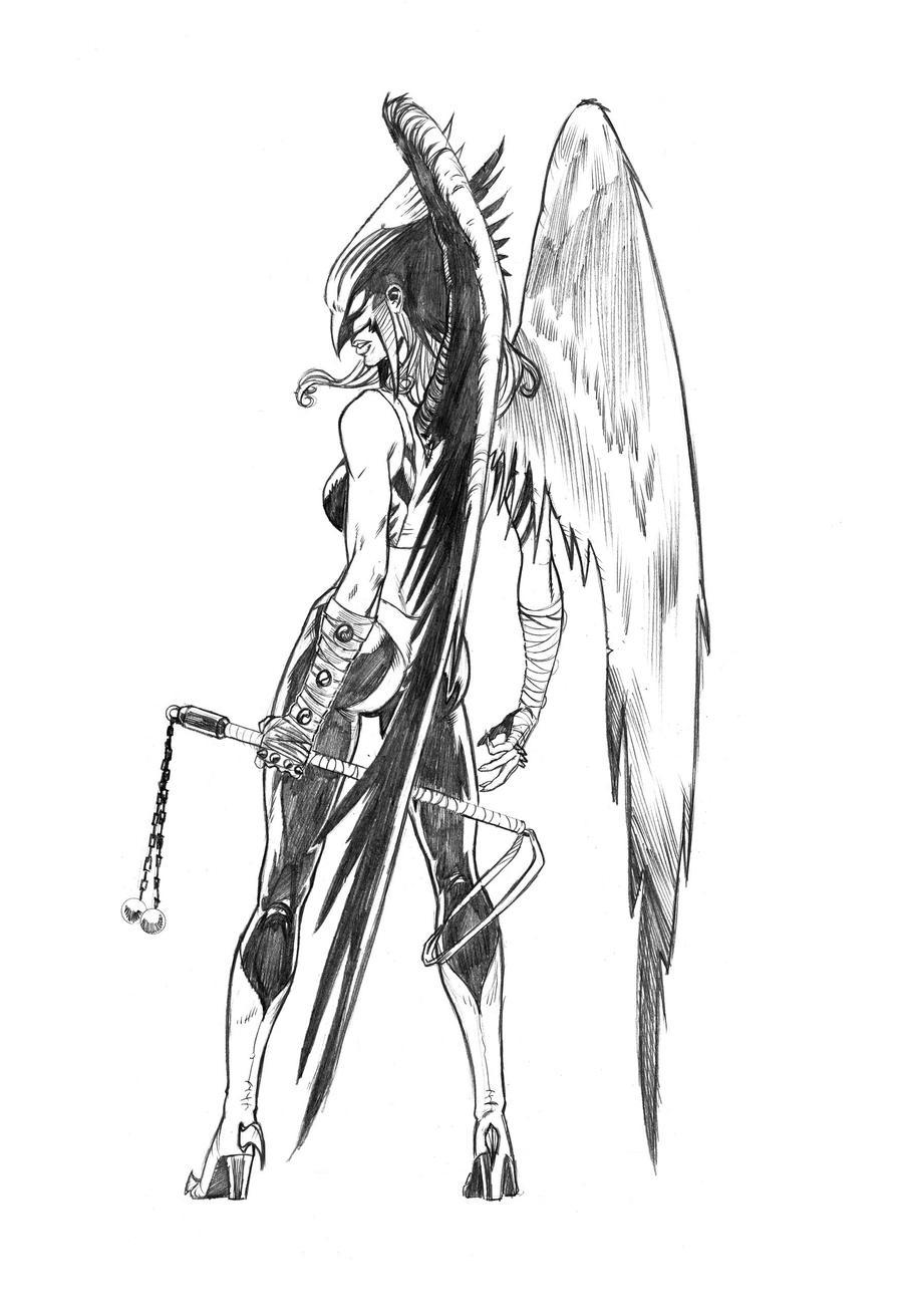 Hawkgirl by wendellcavalcanti
