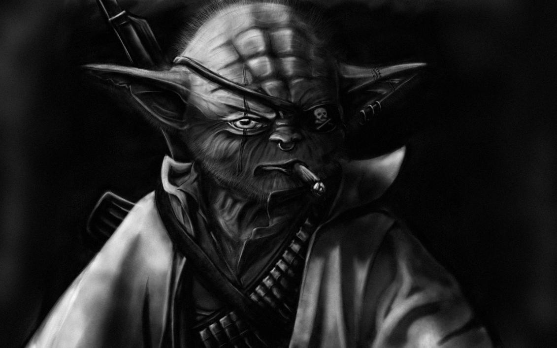 Yoda by nooblar
