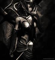 Blood Queen by nooblar