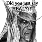 You want a heal? by nooblar