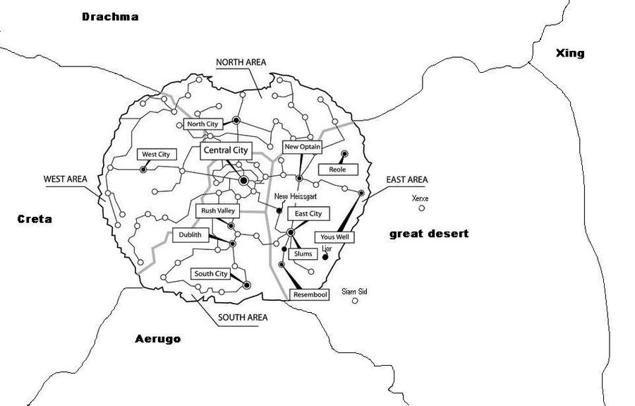 Amestris Map by 33k7 on DeviantArt