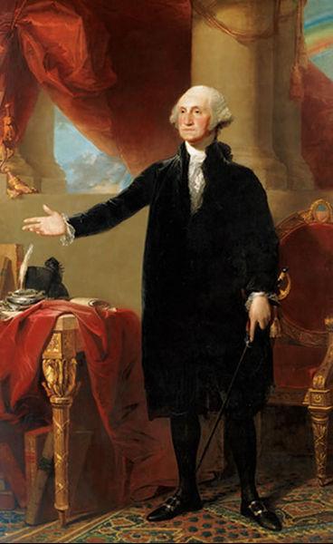 George Washington by 33k7