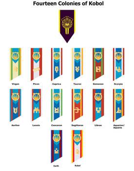 Fourteen Colonies of Kobol