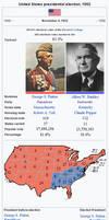 President George S. Patton's second term