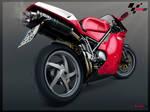 Ducati Bike Toon