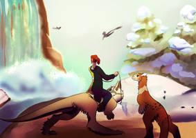 Frozen Land by AkinaTakesora