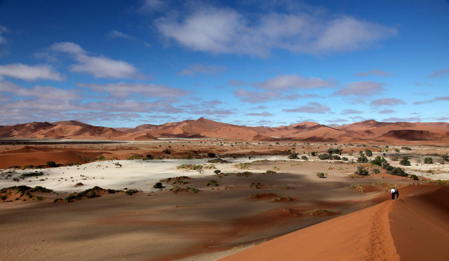 View from the top of the dune by Suppi-lu-liuma