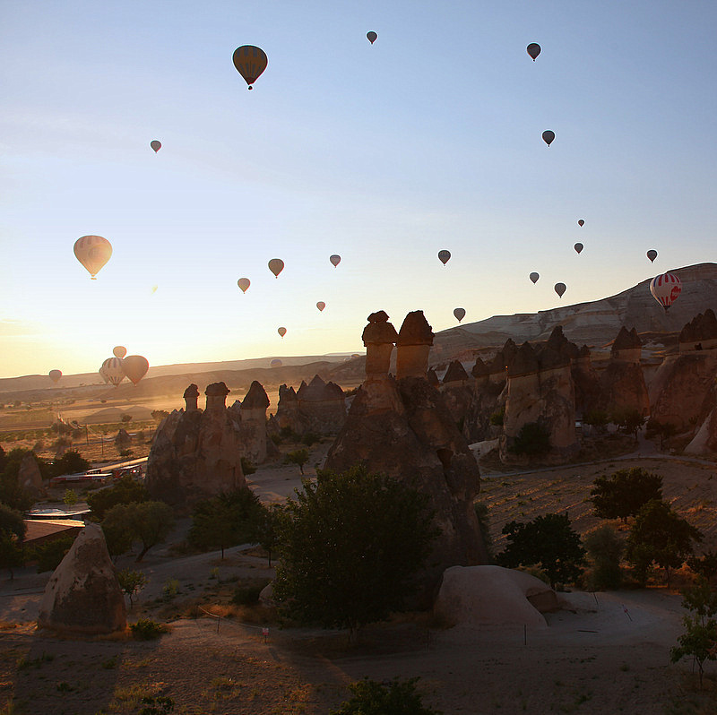 Balloons of Cappadocia - XX by Suppi-lu-liuma