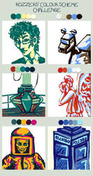 Doctor Who-Color Scheme by musicalartfreak