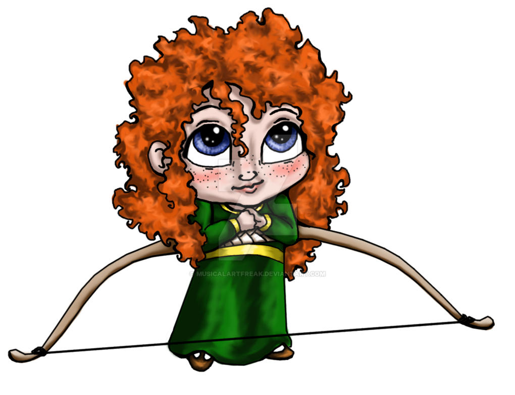Merida Sticker by musicalartfreak