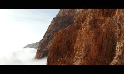 Rocky Cliffs 2 by Wetbanana