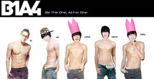 B1A4 Jeans Photoshoot