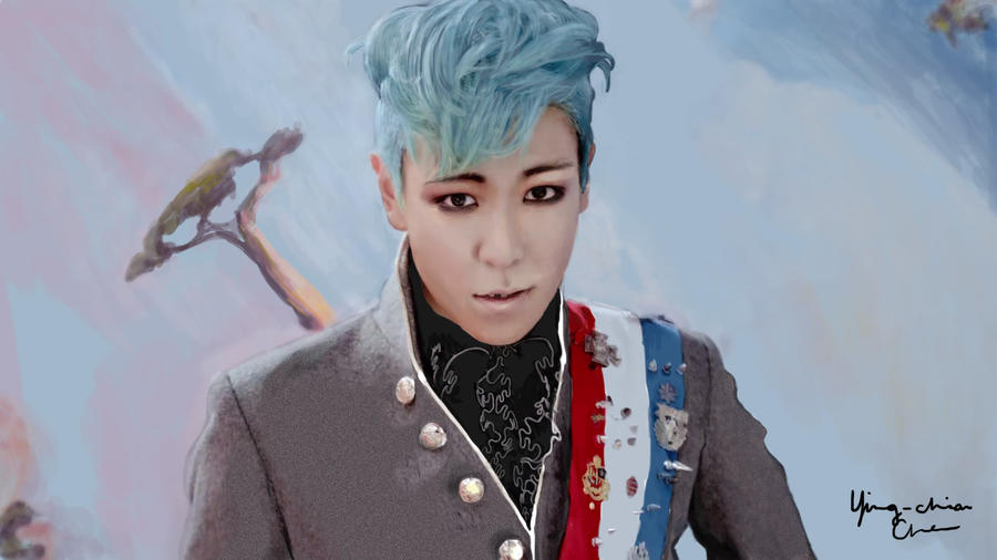 BIGBANG - TOP Speedpaint by ychen183