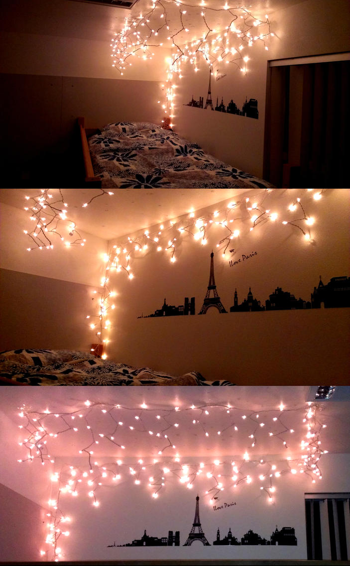 Dorm rooms lights - College Dorm Room By Ychen183