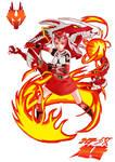 3. Rider Girl Ryuki (Character Art)