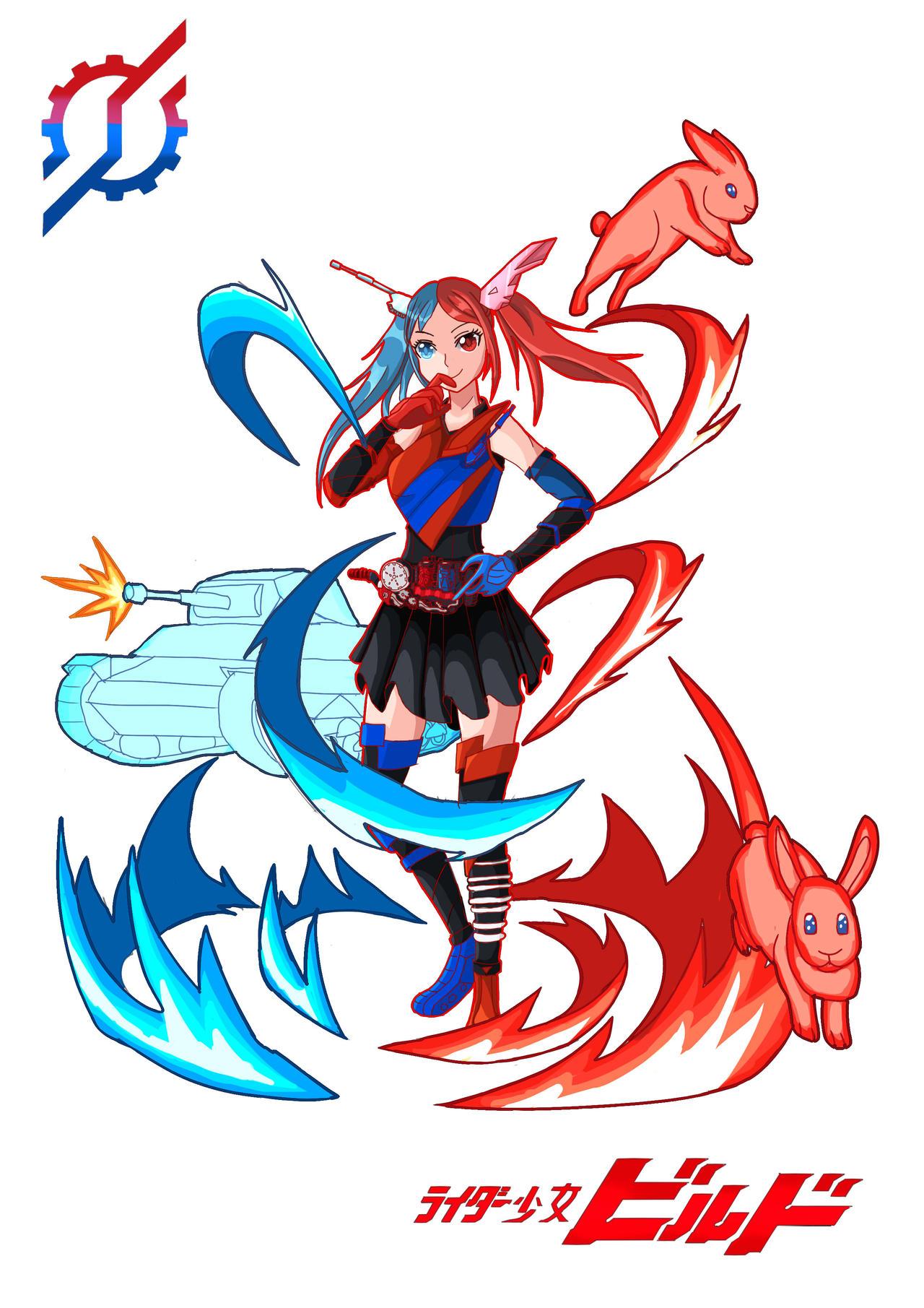 19 Rider Girl Build Character Art By Gatekeeper13100 On Deviantart