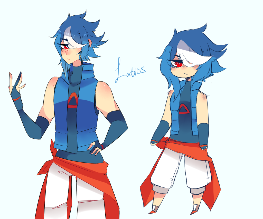 Custom - Latios Gijinka by XxPastel-GhoulxX on DeviantArt