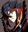 Kill la Kill Ryuko Matoi Pixel Art