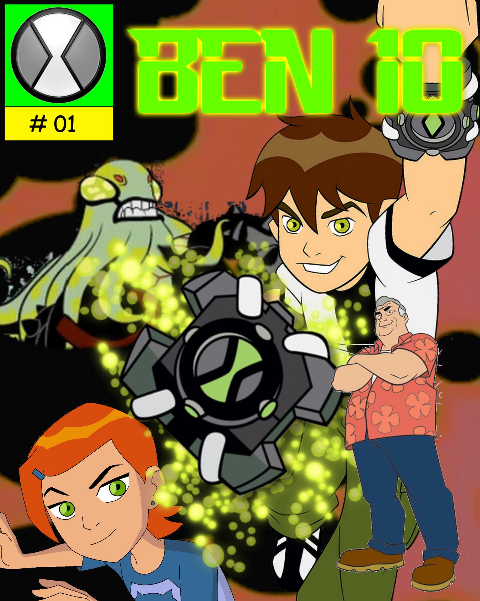 Ben 10 Fan Comics #01 Cover By RED-X2086 On DeviantArt