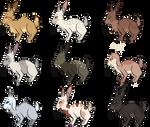 Rabbit Adopts [6/9 OPEN] by cryptidcaracaldarku