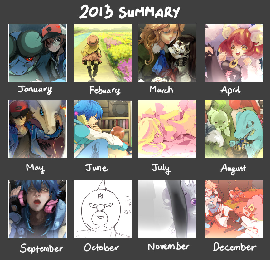 2013 Summary by kohiu