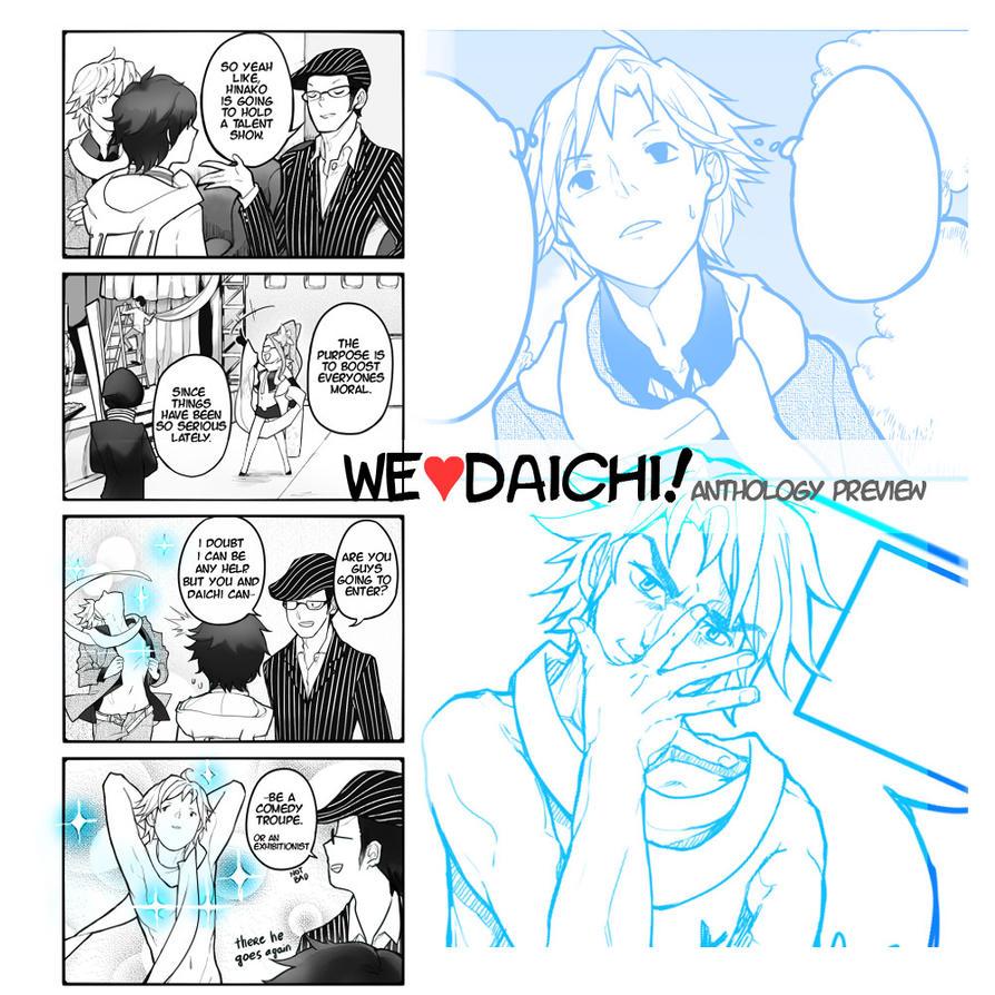 We heart Daichi anthology preview by kohiu