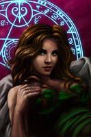 ooooo magic-ey by Inquisitiveclay