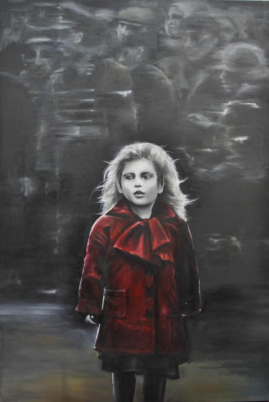 Little Girl in the Red Coat by boninuit on DeviantArt
