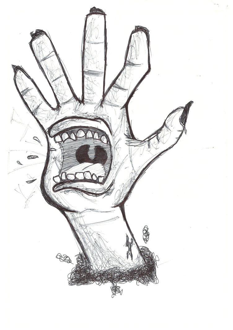 Screaming Hand by GuilhermeMTL