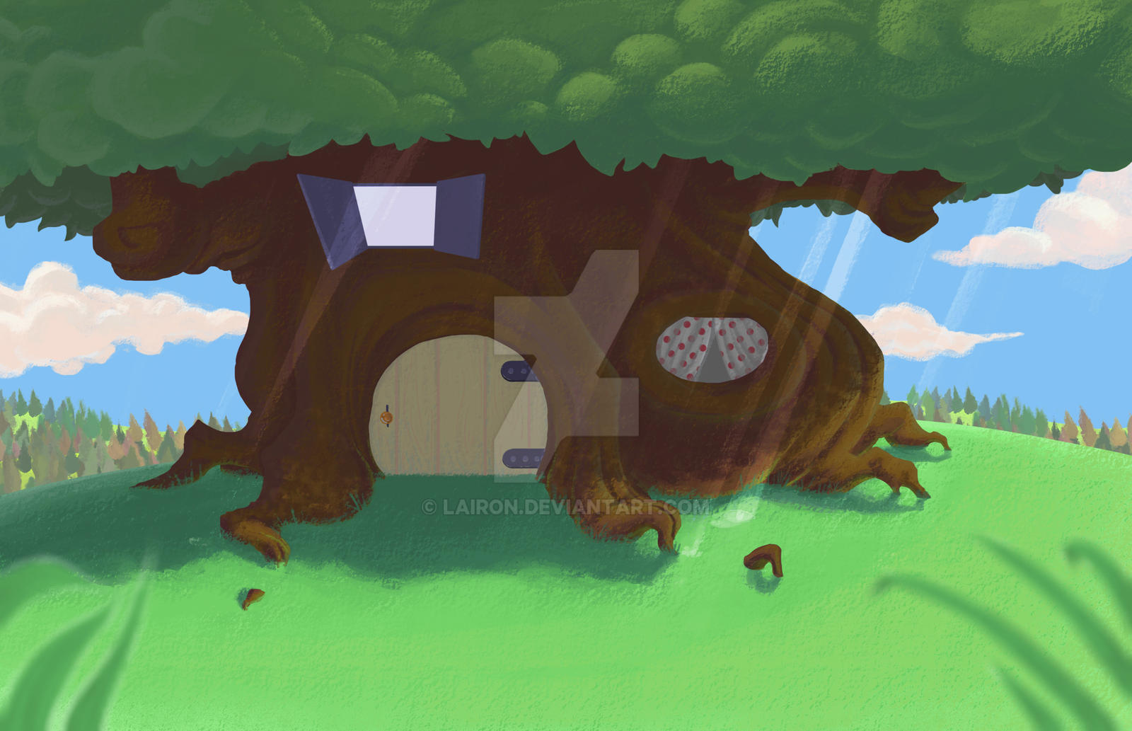 tree house by Lairon