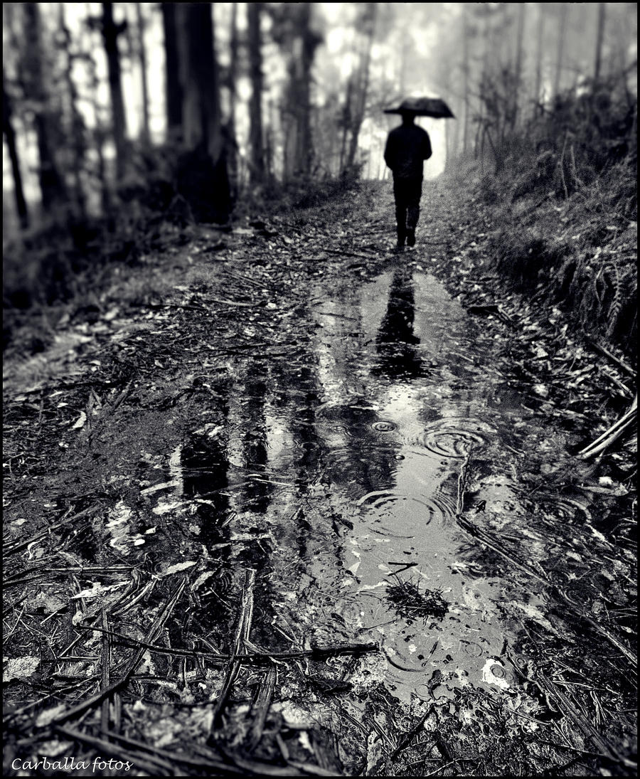 Raindrops keep falling on my head by guillermocarballa on ...