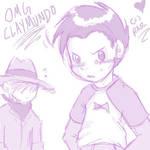 CLAYMUNDO OMG by roundarosie