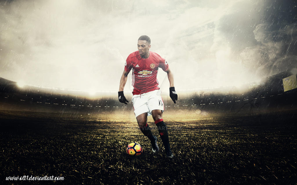 Anthony Martial,Manchester United Wallpaper. By Olt1 On