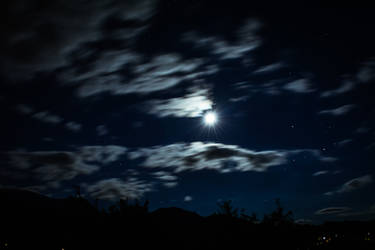 Night In Bran by felinablueeyes