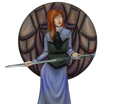 Request: Maiden with claymore