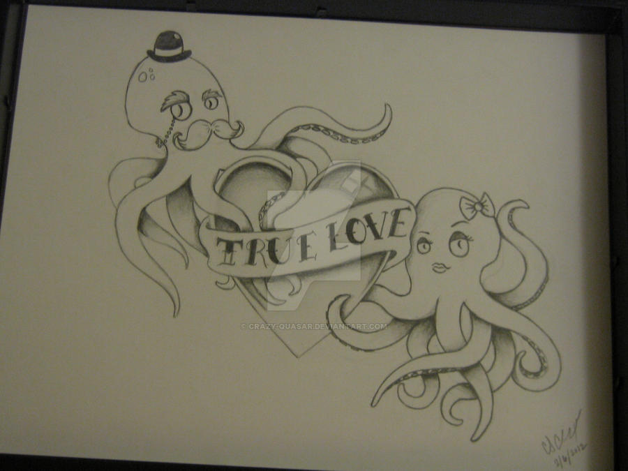 traditional 39 true love 39 tattoo design by crazy quasar on deviantart. Black Bedroom Furniture Sets. Home Design Ideas