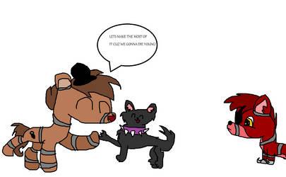 Freddy Likes To Dance! by MidnightLunaLove