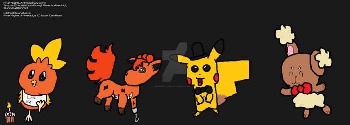 Five Nights At Pikachu's Gang