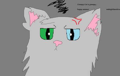 Grumpy Cat Is Grumpy by MidnightLunaLove