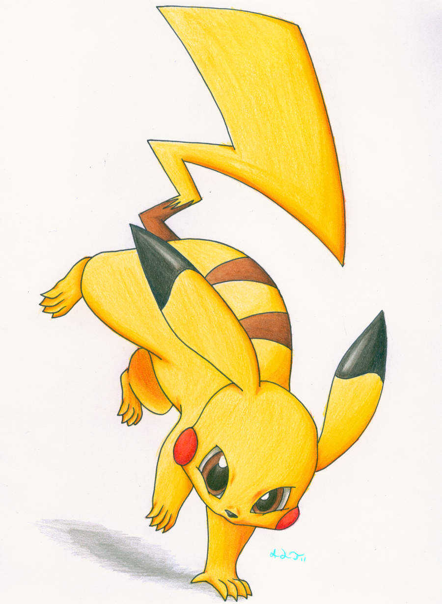 PIKACHU by Cattensu