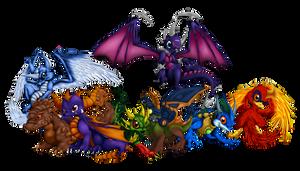 The Dragons of Skyland