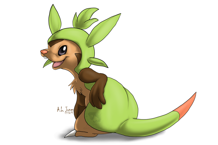 Chespin Again by Cattensu