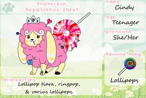 Lollipop Princess Flufferbun by SammichPup