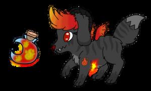 Elemental Pochet - Inferno by SammichPup