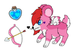 Valentine's Bear Pochet - Adopt Auction (OPEN)